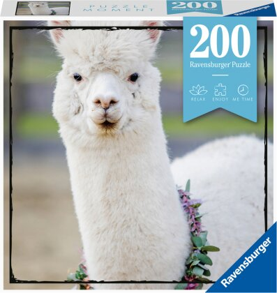 Ravensburger Puzzle Moment 13270 - Alpaka - 200 Teile Puzzle für Erwachsene und Kinder ab 14 Jahren
