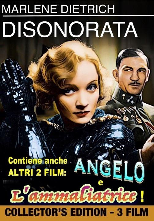 Disonorata + Angelo + L'Ammaliatrice (3 Movie Collection, s/w, Collector's Edition)