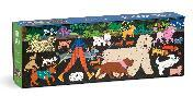 Dog Walk 1000 Piece Panoramic Puzzle