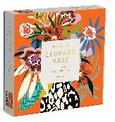 Kitty McCall Leopard Vase 144 Piece Wood Puzzle