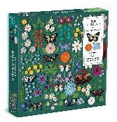 Butterfly Botanica 500 Piece Puzzle with Shaped Pieces