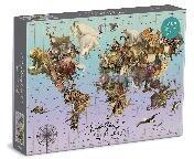Wendy Gold Endangered Species 1500 Piece Puzzle