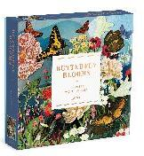 Butterfly Blooms 144 Piece Wood Puzzle