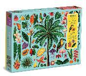 Tropics 1000 Piece Puzzle with Shaped Pieces