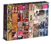 Patterns of India - A Journey Through Colors, Textiles and the Vibrancy of Rajasthan 1000 Piece Puzzle