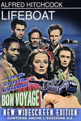 Lifeboat + Bon Voyage (New Widescreen Edition, s/w)