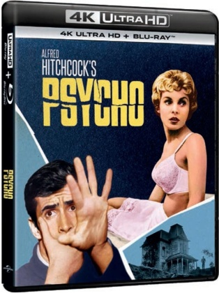 Psycho (1960) (4K Ultra HD + Blu-ray)