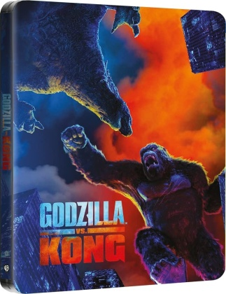 Godzilla vs. Kong (2021) (Steelbook, 4K Ultra HD + Blu-ray)