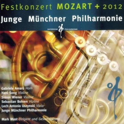 Junge Münchner Philharmonie, Wolfgang Amadeus Mozart (1756-1791), Astor Piazzolla (1921-1992) & Mark Mast - Festkonzert MOZART + 2012