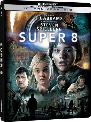 Super 8 (2011) (Limited Edition, Steelbook, 4K Ultra HD + Blu-ray)