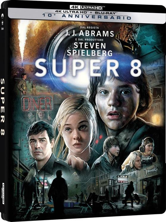 Super 8 (2011) (Edizione Limitata, Steelbook, 4K Ultra HD + Blu-ray)