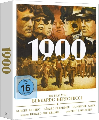 1900 (1976) (Mediabook, 3 Blu-rays)