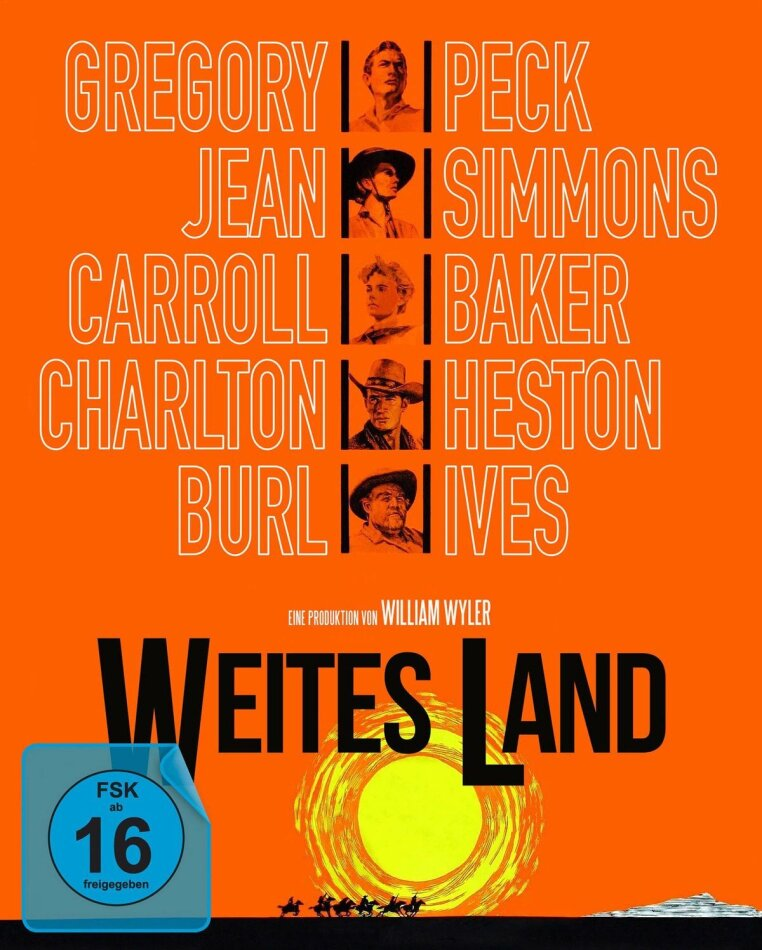 Weites Land (1958) (Special Edition, Blu-ray + 2 DVDs)