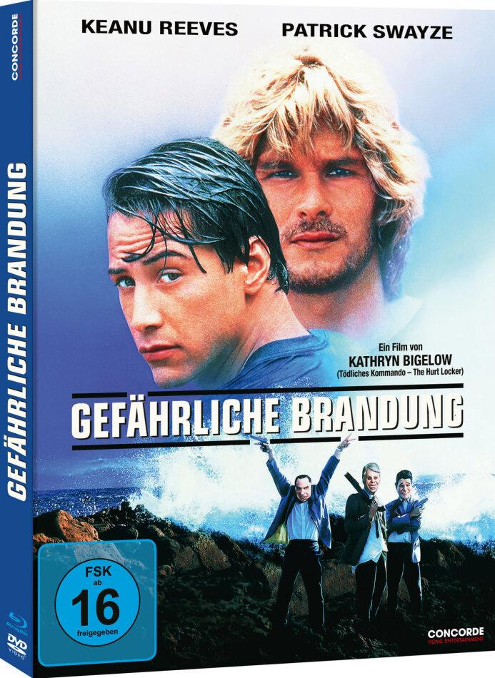 Gefährliche Brandung (1991) (Limited Edition, Mediabook, Blu-ray + DVD)