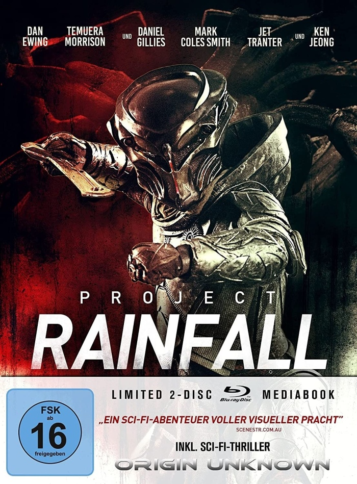 Project Rainfall (2020) (Edizione Limitata, Mediabook, 2 Blu-ray)