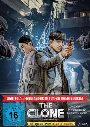 The Clone - Schlüssel zur Unsterblichkeit (2021) (Limited Edition, Mediabook, 2 Blu-rays)