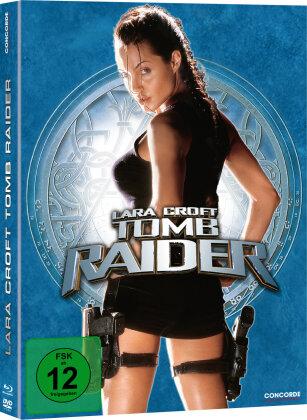Lara Croft: Tomb Raider (2001) (Limited Edition, Mediabook, Blu-ray + DVD)