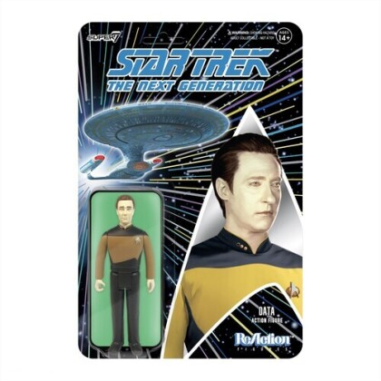 Star Trek: Tng Reaction Figure Wave 1 - Data