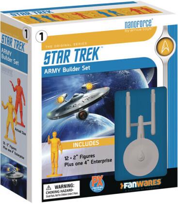 Spherewerx - Nanoforce Star Trek Tos Px Army Builder Boxed Set