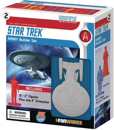 Spherewerx - Nanoforce Star Trek Tng Px Army Builder Boxed Set