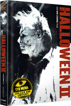 Halloween 2 (2009) (Cover G, Limited Edition, Mediabook, Blu-ray + DVD)