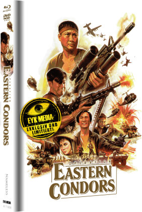Operation Eastern Condors (1987) (Cover D, Limited Edition, Mediabook, 2 Blu-rays + 2 DVDs)