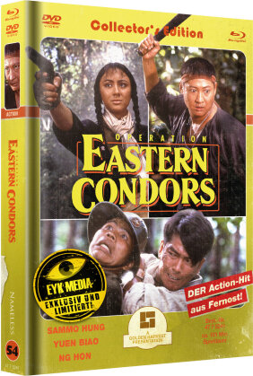 Operation Eastern Condors (1987) (Cover C, Limited Edition, Mediabook, 2 Blu-rays + 2 DVDs)