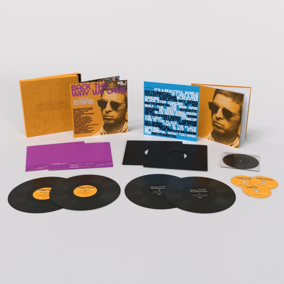 """Noel Gallagher (Oasis) & High Flying Birds - Back The Way We Came: Vol.1 (2011-2021) (Boxset, 4 LPs + 7"""" Single + 3 CDs)"""