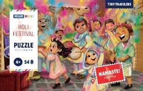 Puzzle - Holi Festival