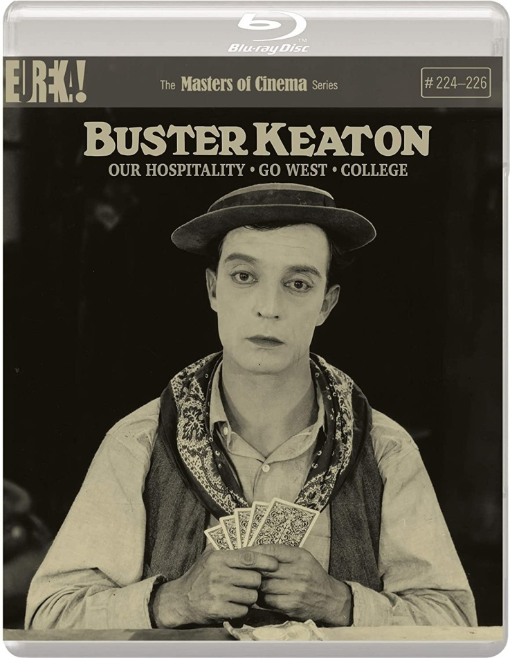 Buster Keaton - Our Hospitality / Go West / College (Masters of Cinema, n/b)