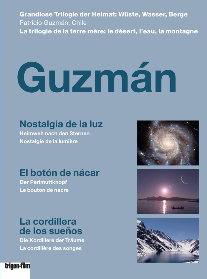 Guzmán - Nostalgia de la luz / El botón de nácar / La cordillera de los sueños (3 DVDs)