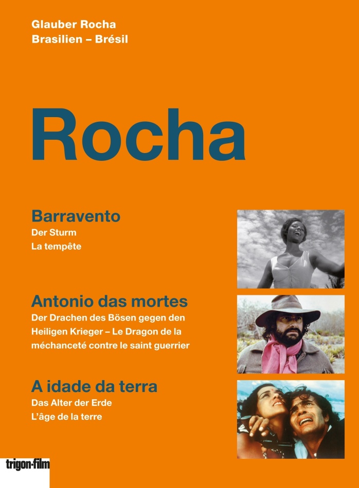 Rocha - Barravento / Antonio das mortes / A idade da terre (Trigon-Film, 3 DVDs)