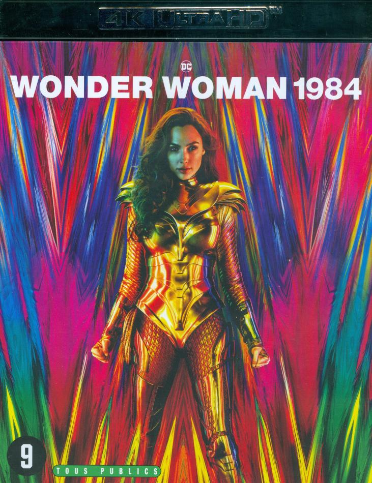 Wonder Woman 1984 - Wonder Woman 2 (2020) (4K Ultra HD + Blu-ray)