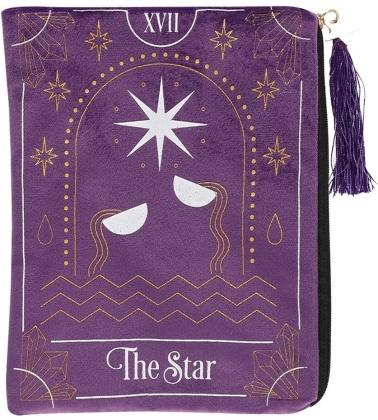 The Star Tarot Card Zippered Bag