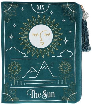 The Sun Tarot Card Zippered Bag