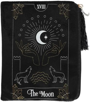 The Moon Tarot Card Zippered Bag