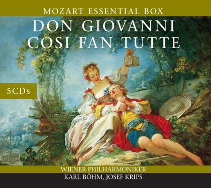 Wolfgang Amadeus Mozart (1756-1791), Karl Böhm, Joseph Krips & Wiener Philharmoniker - Don Giovanni - Cosi Fan Tutte (5 CDs)