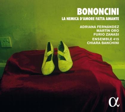 Bononcini, Adriana Fernández, Martin Oro, Furio Zanasi, Giovanni Maria Bononcini (1670-1747), … - La Nemica D'amore Fatta Amante (2021 Reissue)