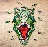 Holz-Puzzle - T-Rex