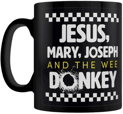 Jesus, Mary, Joseph and the Wee Donkey - Mug