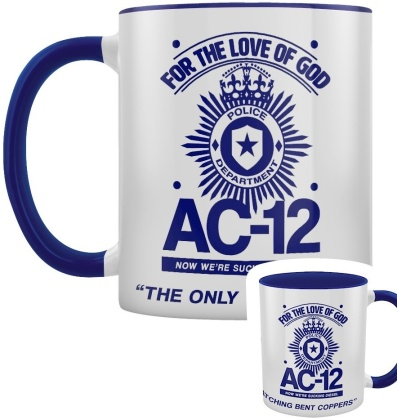 AC-12 Quotes - Blue Inner 2-Tone Mug