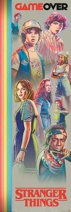 Stranger Things: Game Over - Door Poster