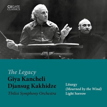 Tbilisi Symphony Orchestra, Giya Kancheli (*1935) & Djansug Kakhidze - Mourned By The Wind