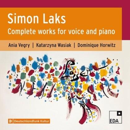 Ania Vegry, Katarzyna Wasiak, Dominique Horwitz & Simon Laks - Complete Works Voice & Piano (2 CDs)