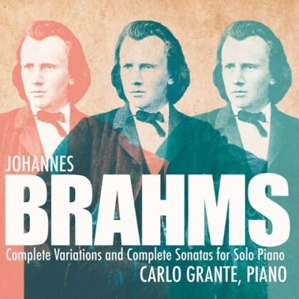 Johannes Brahms (1833-1897) & Carlo Grante - Complete Variations