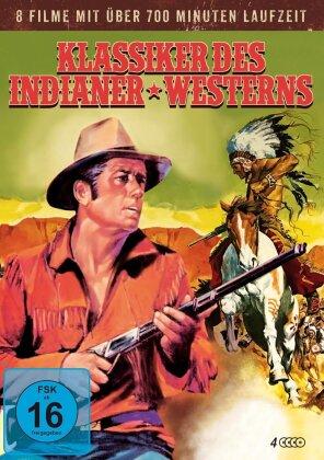 Klassiker des Indianer Westerns - 8 Filme (4 DVDs)