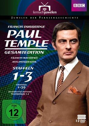 Paul Temple - Staffel 1-3 (Fernsehjuwelen, Gesamtedition, 12 DVDs)