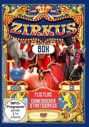 Zirkus Box - Flic Flac / Chinesischer Staatszirkus (2 DVDs + CD)