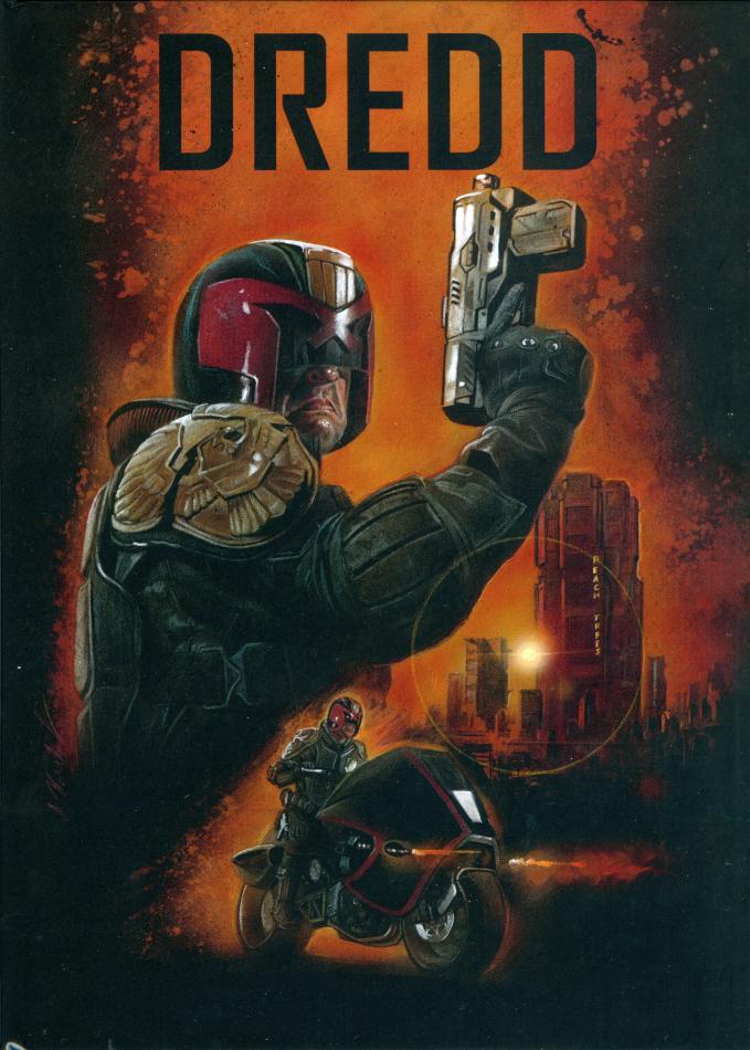 Dredd (2012) (Cover A, Limited Edition, Mediabook, 4K Ultra HD + Blu-ray)