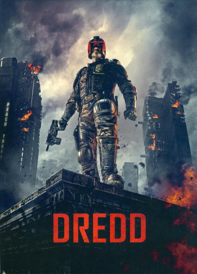 Dredd (2012) (Cover C, Limited Edition, Mediabook, 4K Ultra HD + Blu-ray)
